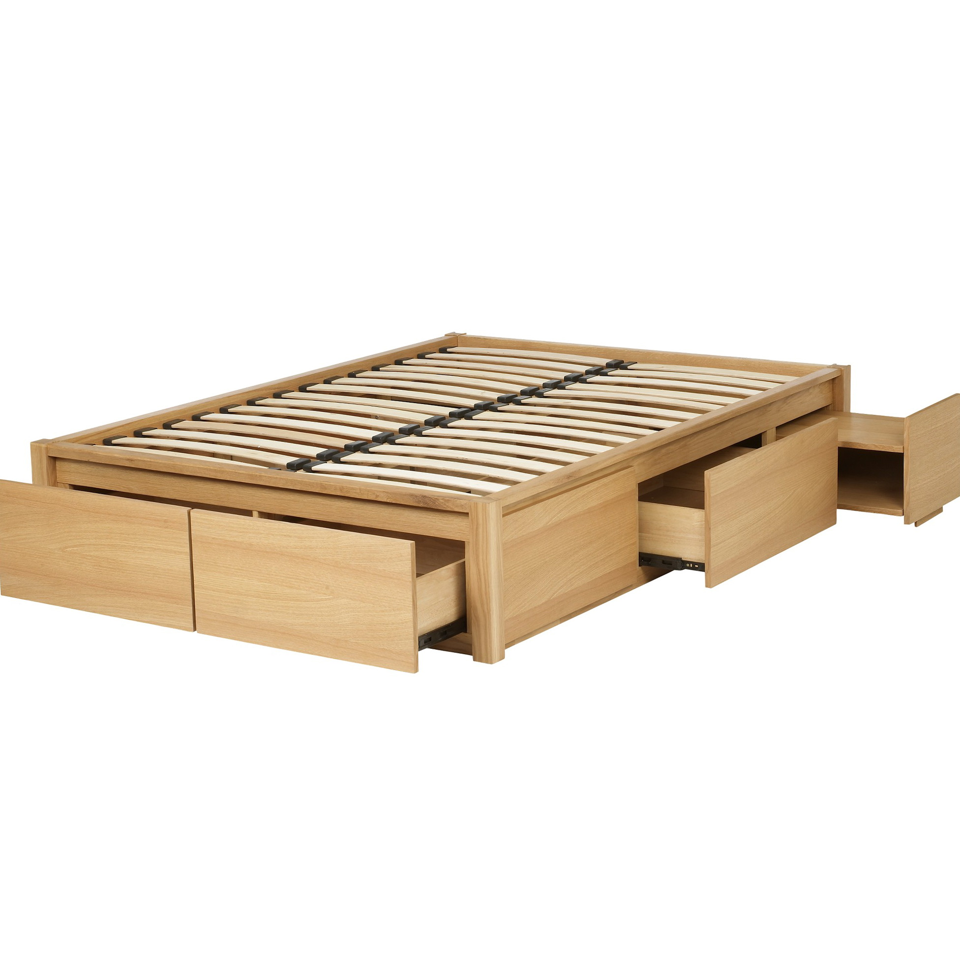Low Platform Beds With Storage