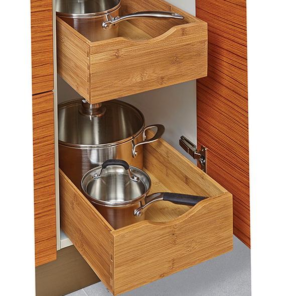 Lower Kitchen Cabinet Organizers