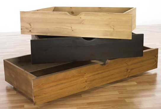 Metal Under Bed Storage Drawers