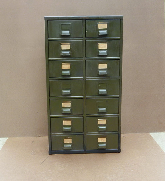 Military Metal Storage Cabinet