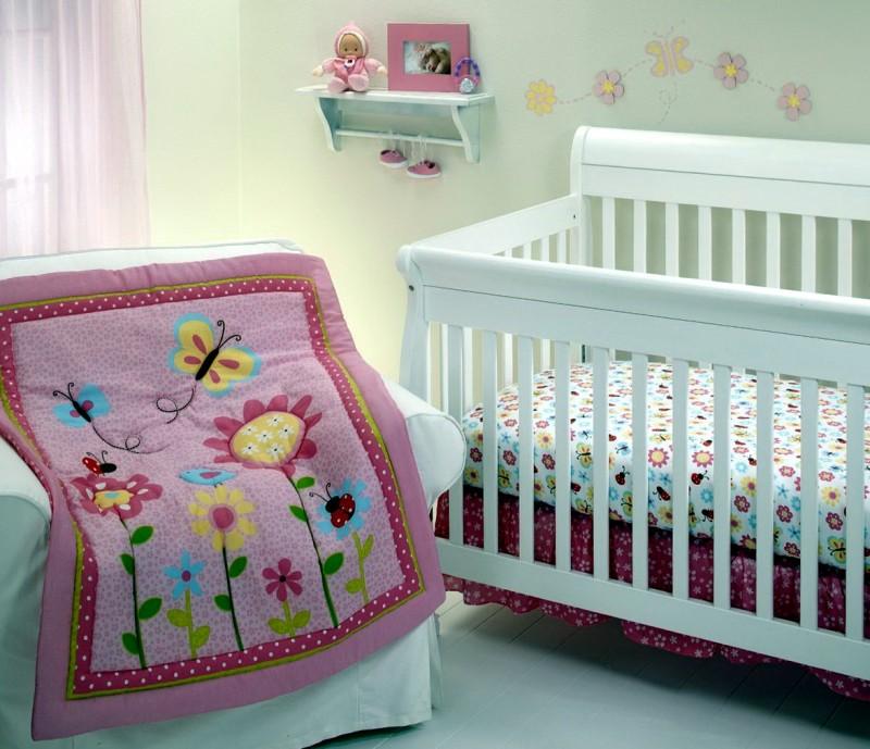 Mini Crib Bedding For Girls