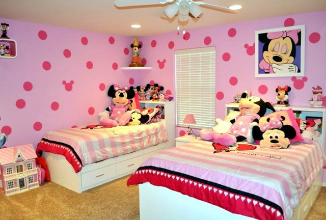 Minnie Mouse Bedroom Paint