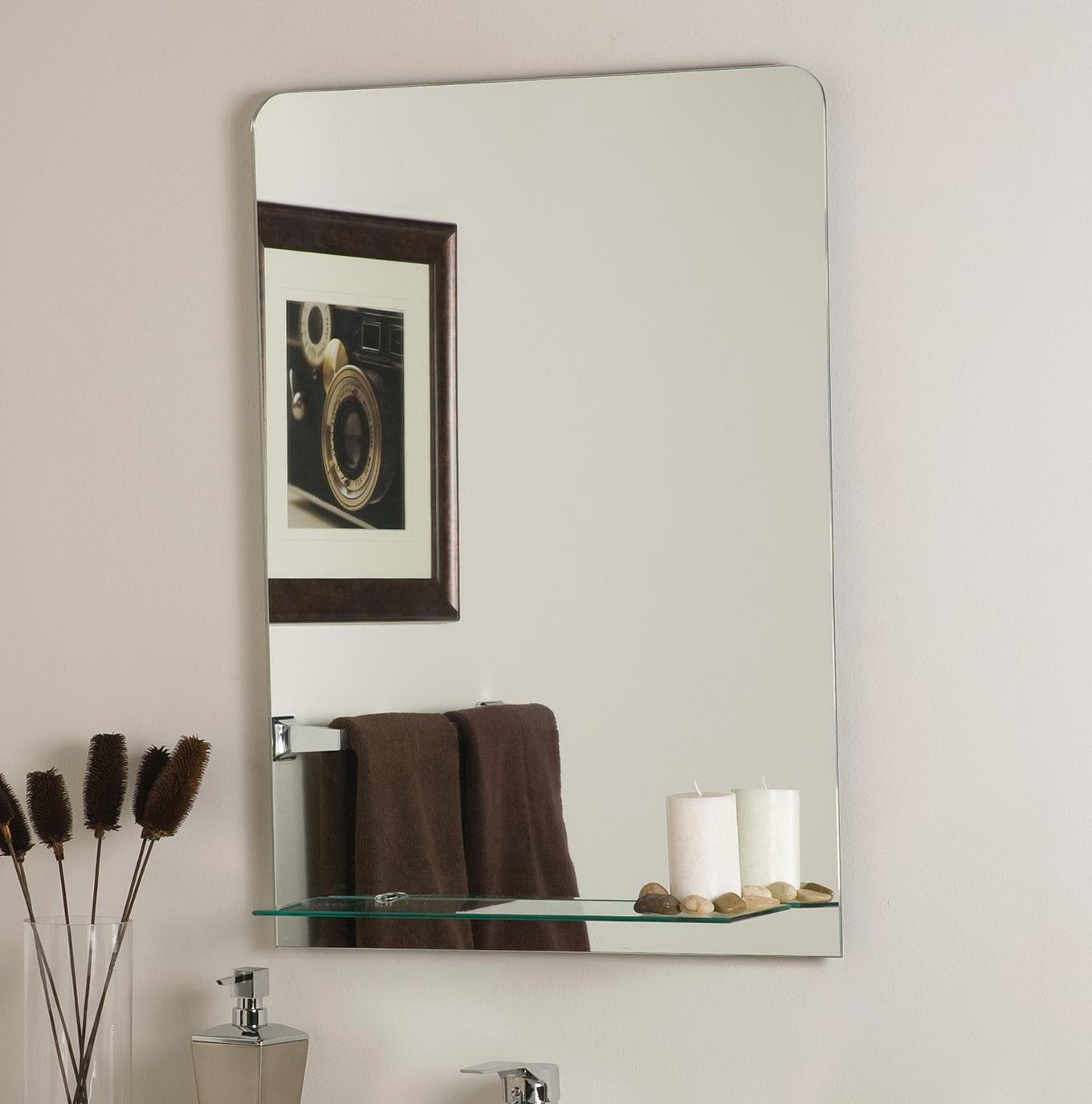 Mirrors For Bathrooms Frameless