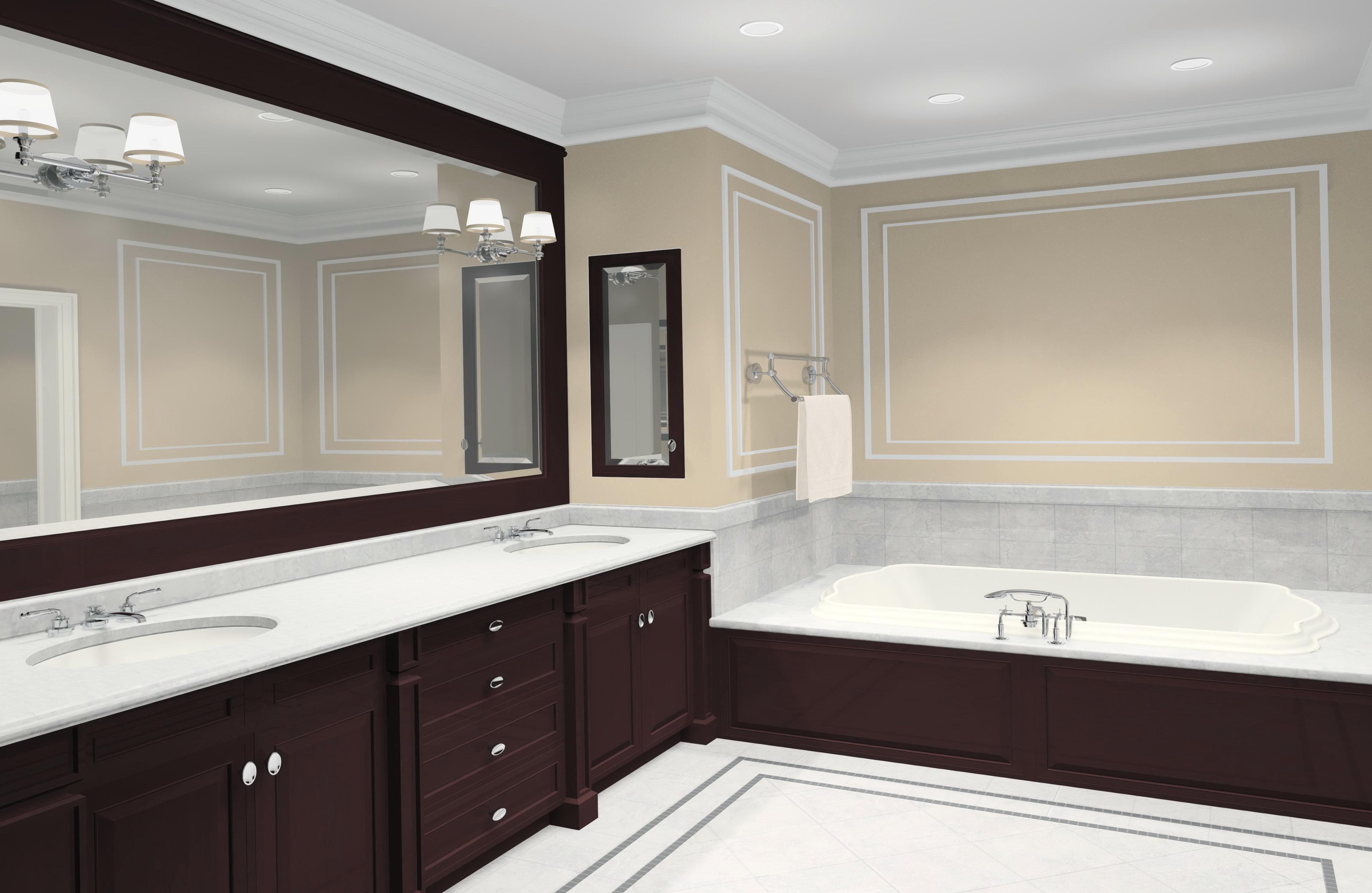 Modern Bathroom Mirror Frames