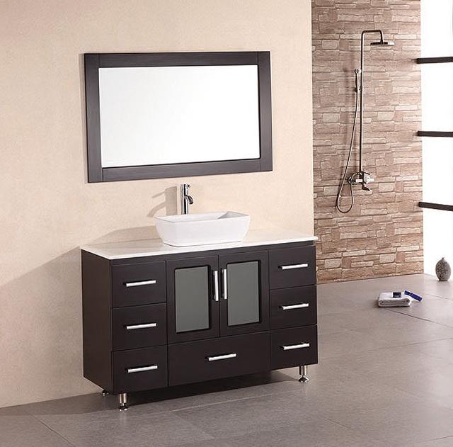 Modern Bathroom Vanities With Vessel Sinks