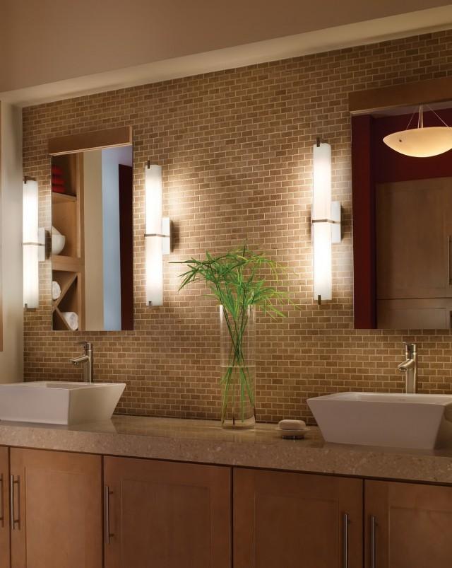 Modern Bathroom Vanity Lighting Ideas