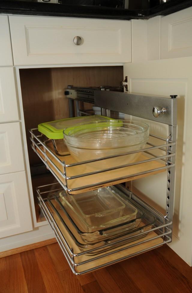 Modern Corner Cabinet Storage
