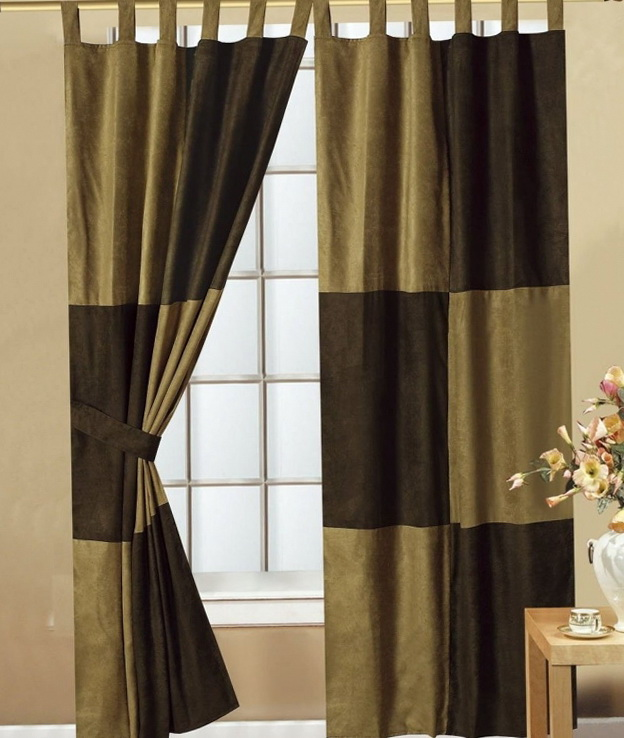 Modern Living Room Drapes