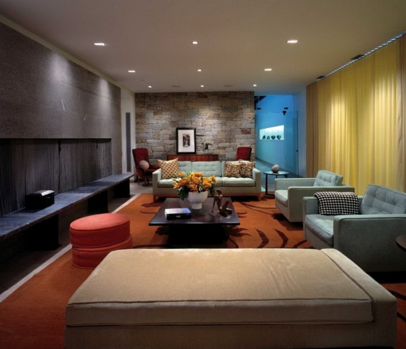 Modern Living Rooms Designs