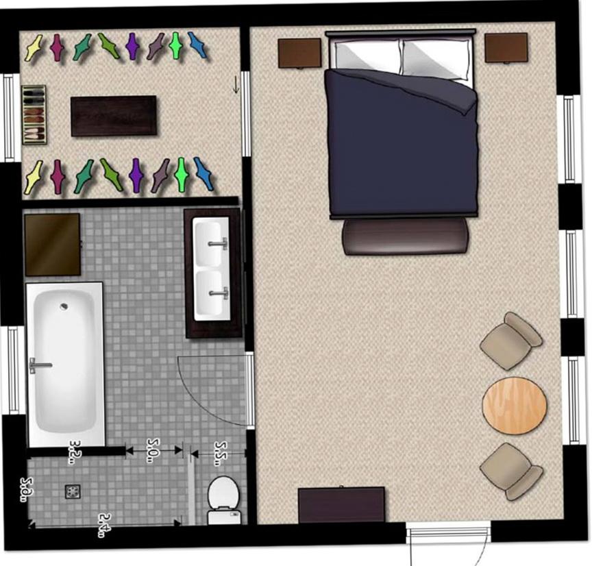 Modern Master Bedroom Floor Plans