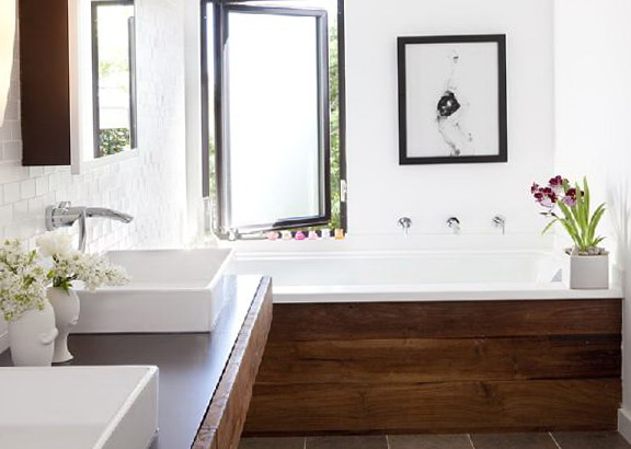 Modern Rustic Bathroom Vanities
