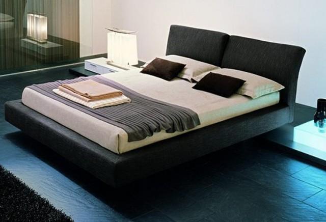 Modern Upholstered Bed Frame