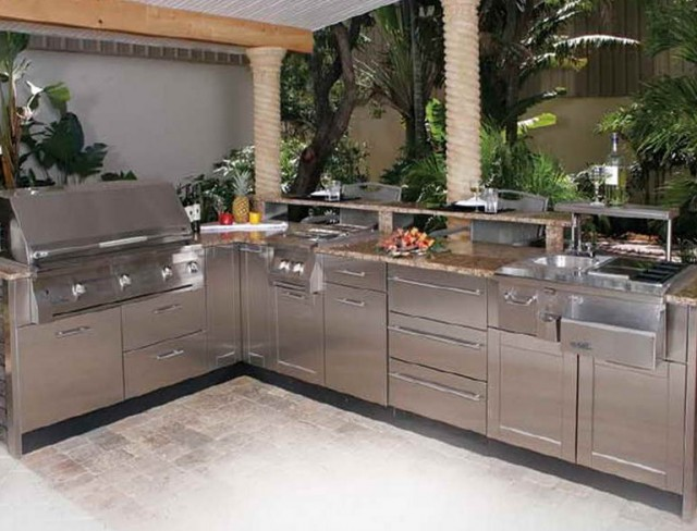 Modular Outdoor Kitchen Cabinets