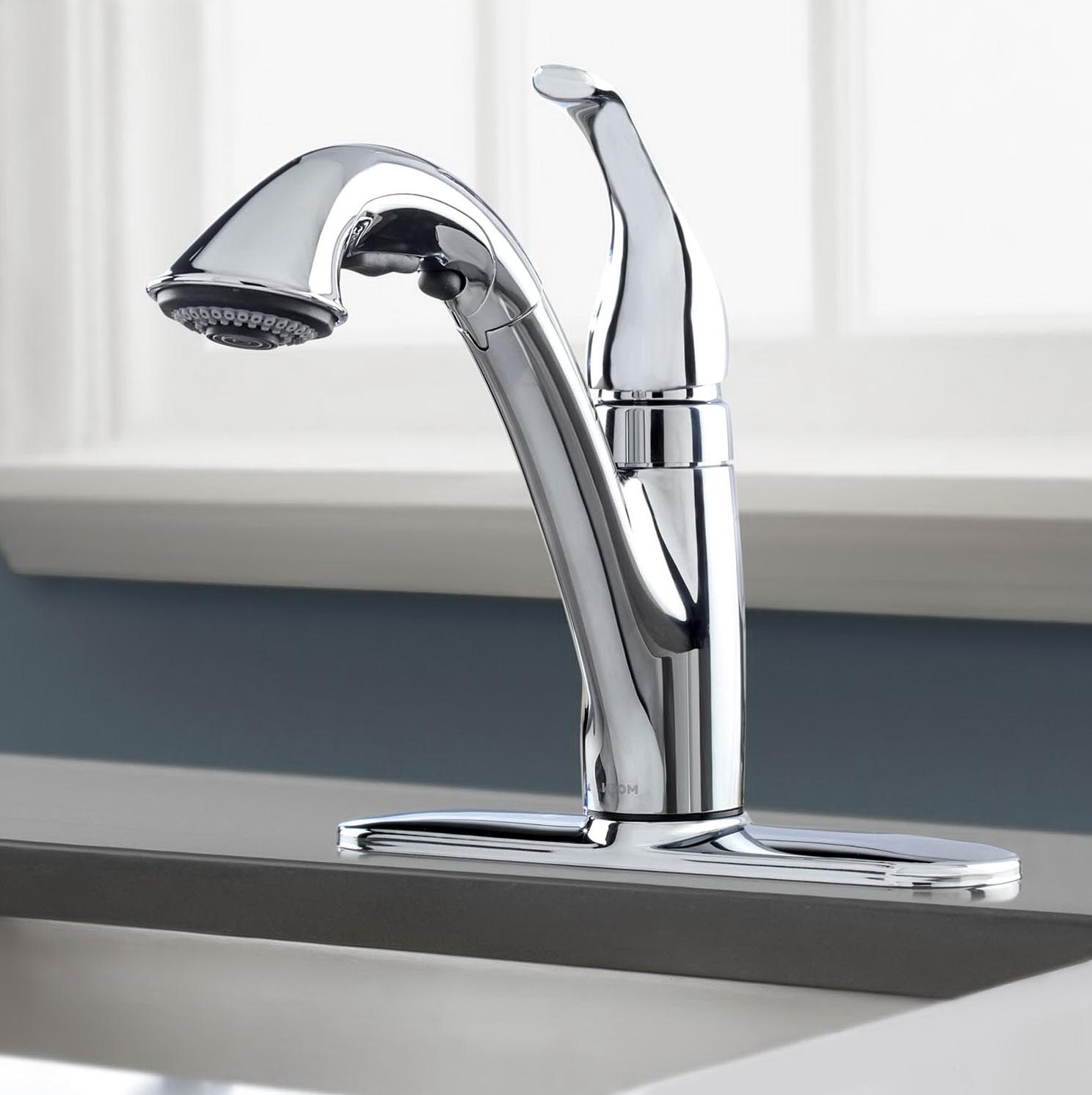 Moen Bathroom Faucets Single Handle