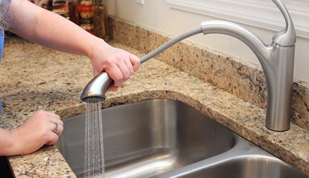 Moen Kitchen Faucet Assembly