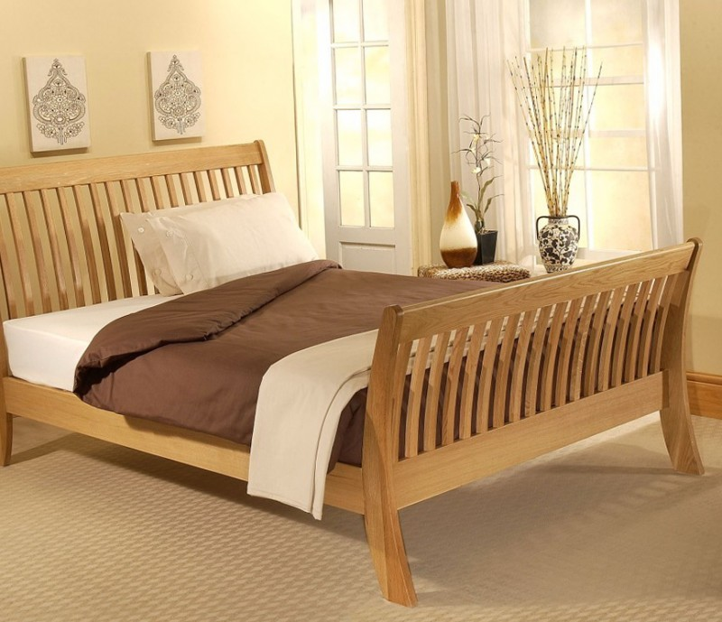 Natural Wood Bed Frames