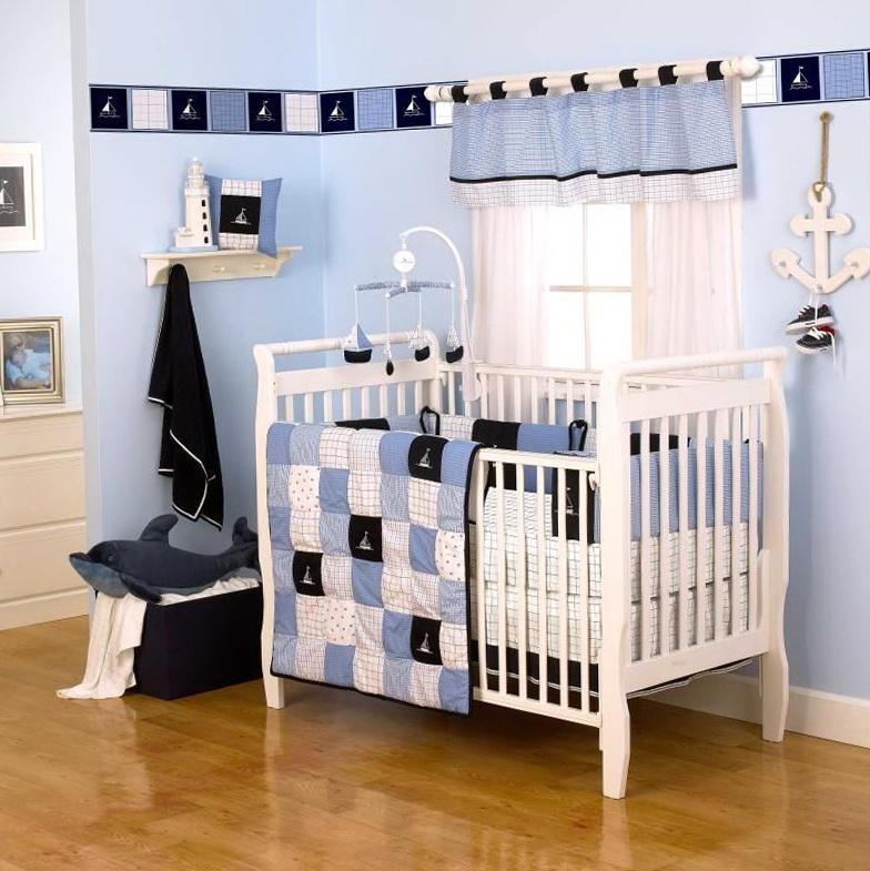 Nautical Baby Bedding Crib Sets