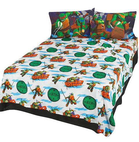 Ninja Turtles Queen Bed Set