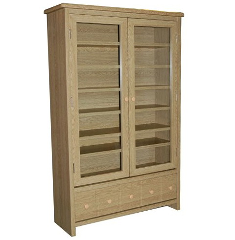 Oak Dvd Storage Cabinet