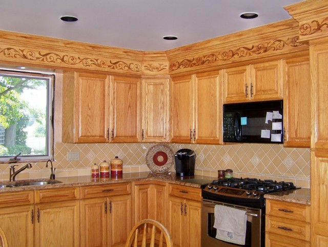 Oak Kitchen Cabinets Makeover