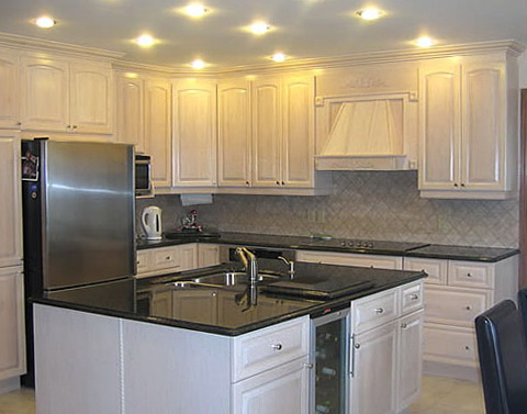 Oak Kitchen Cabinets Painted White