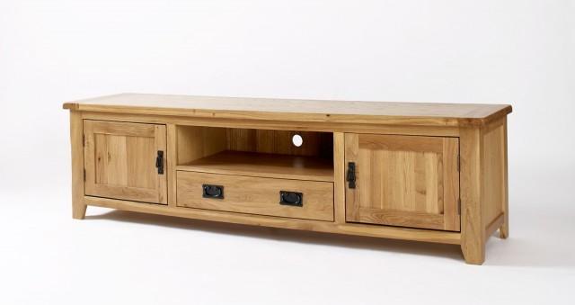 Oak Tv Cabinet With Doors