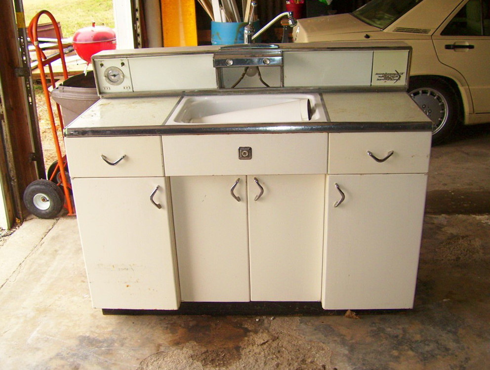 Old Metal Kitchen Cabinets