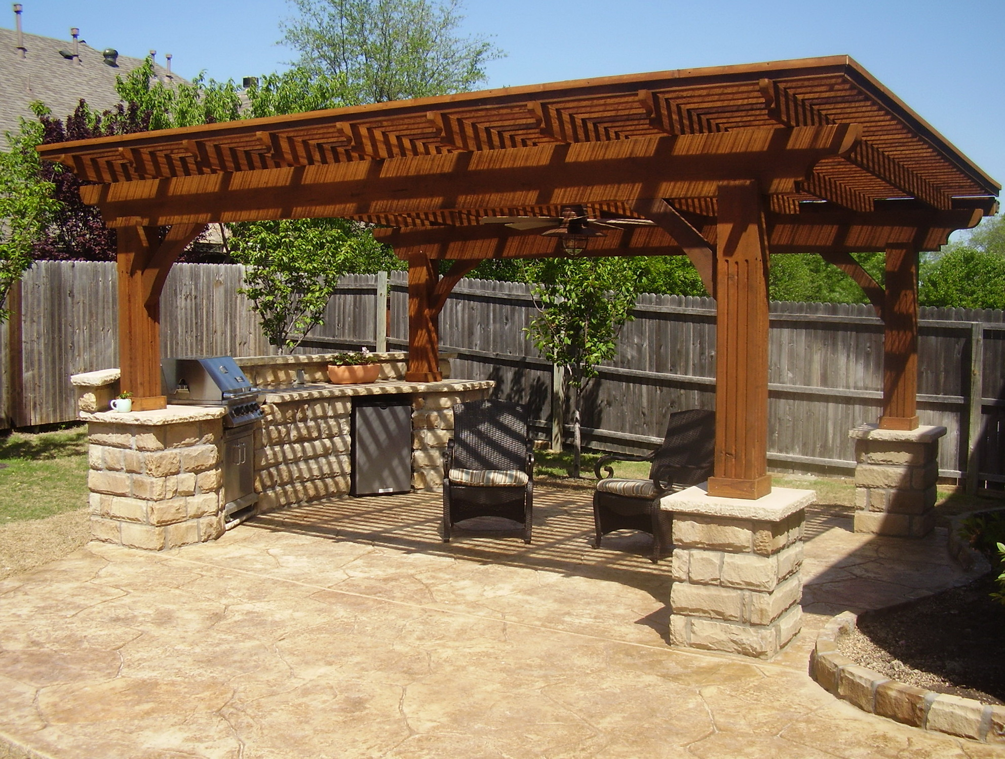 Outdoor Kitchen Designs Pictures