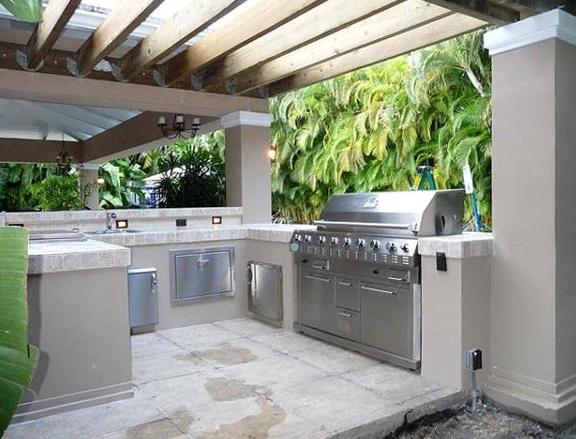 Outdoor Kitchen Designs With Pergolas