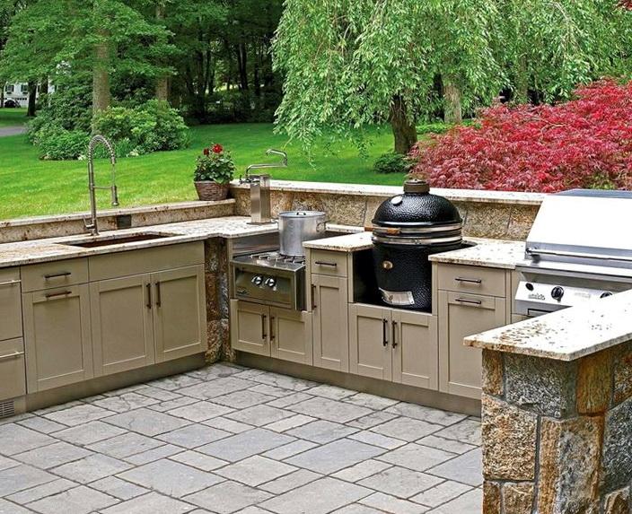 Outdoor Kitchen Designs With Smoker