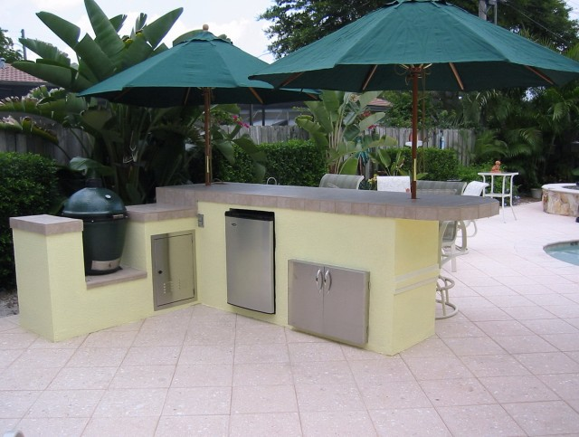 Outdoor Kitchen Ideas Green Egg