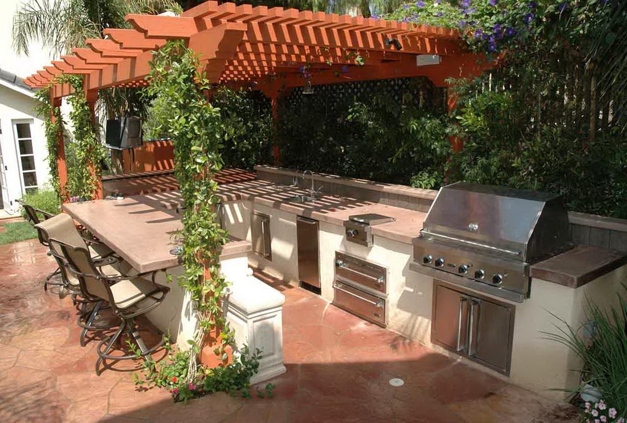 Outdoor Kitchen Ideas Plans