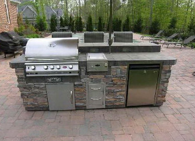 Outdoor Kitchen Kits Modular