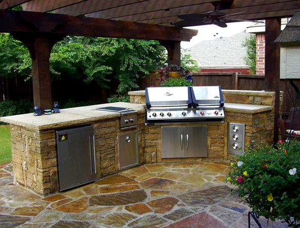 Outdoor Kitchen Plans Diy