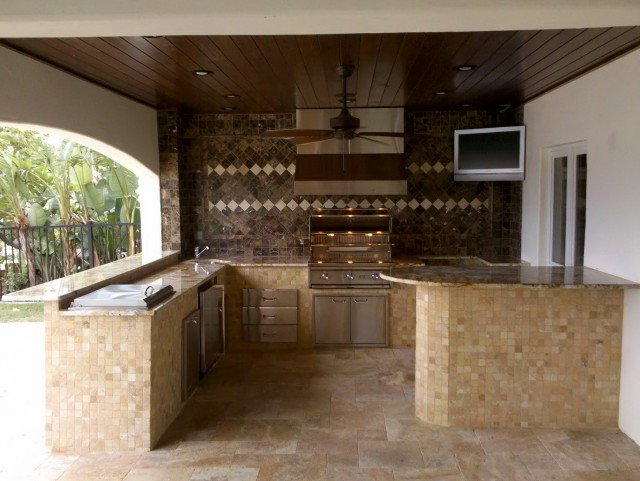 Outdoor Kitchen Plans Pdf