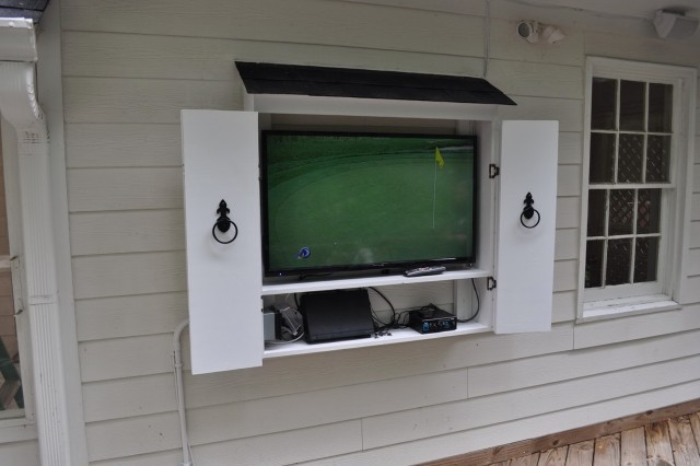 Outdoor Tv Cabinet Diy