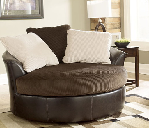 Oversized Round Swivel Chairs For Living Room