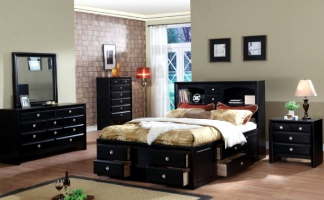 Paint Colors For Bedroom With Dark Furniture