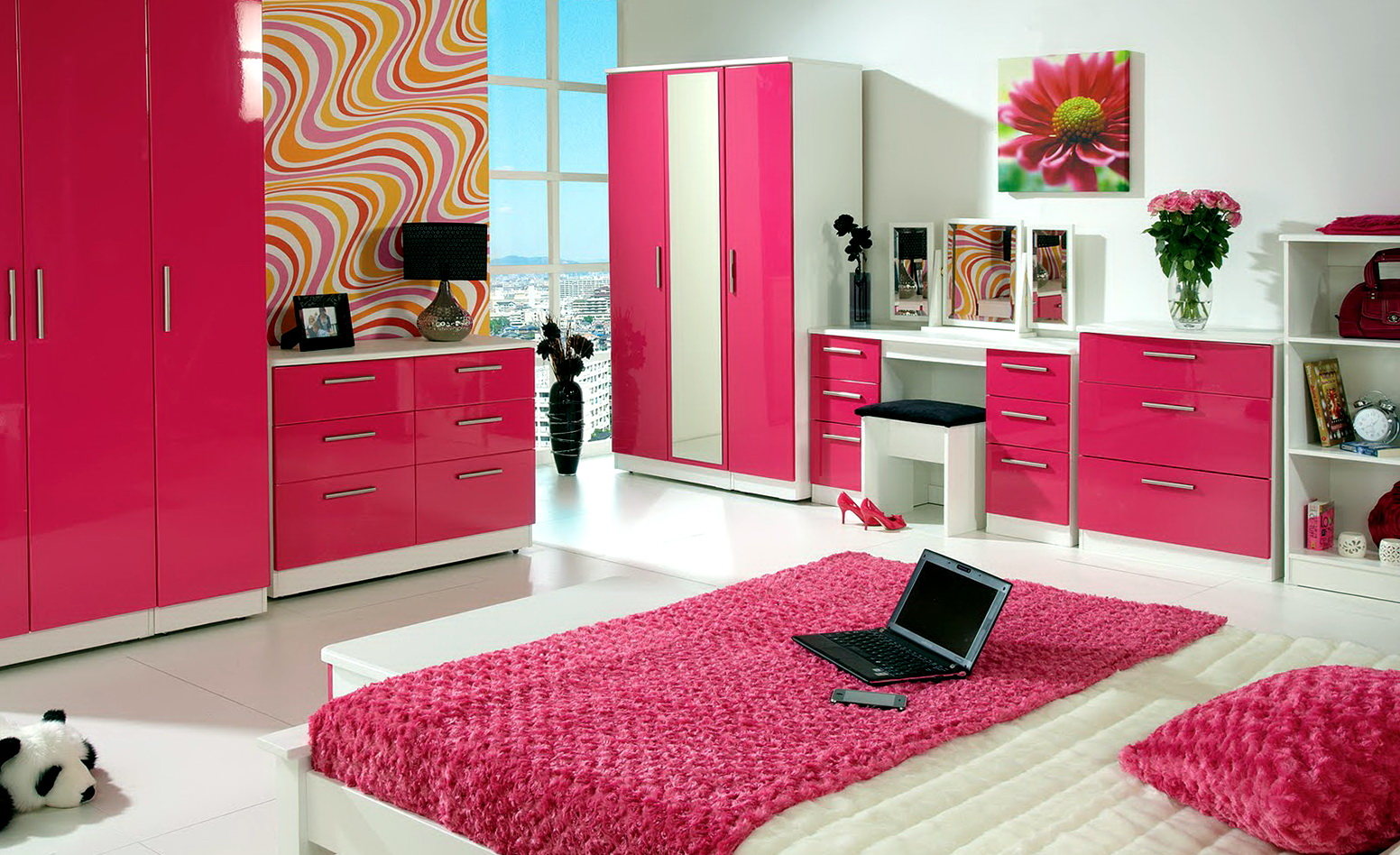Paint Colors For Bedrooms Pink