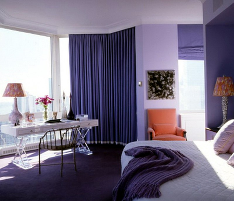 Paint Colors For Bedrooms Purple1