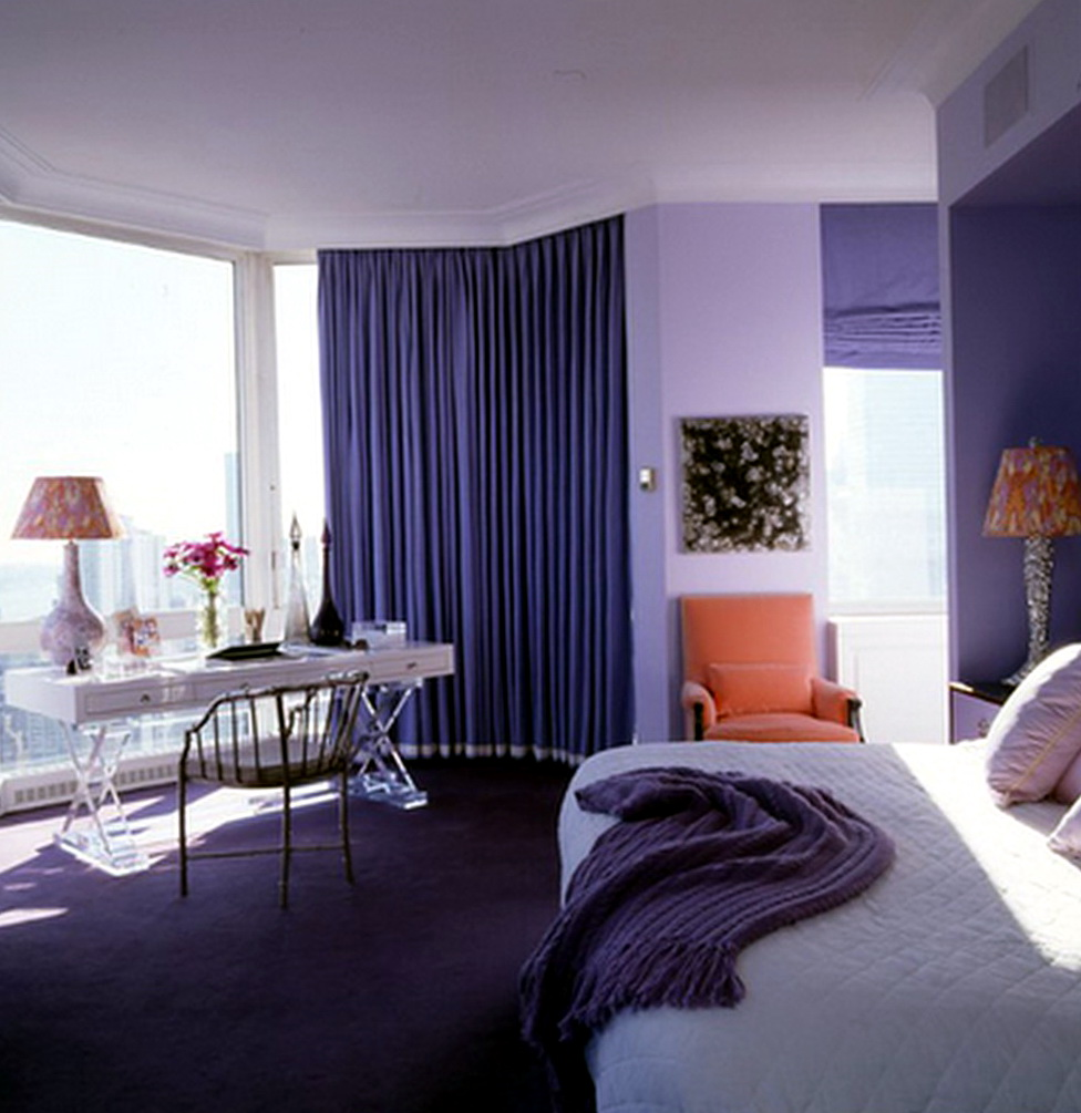 Paint Colors For Bedrooms Purple1