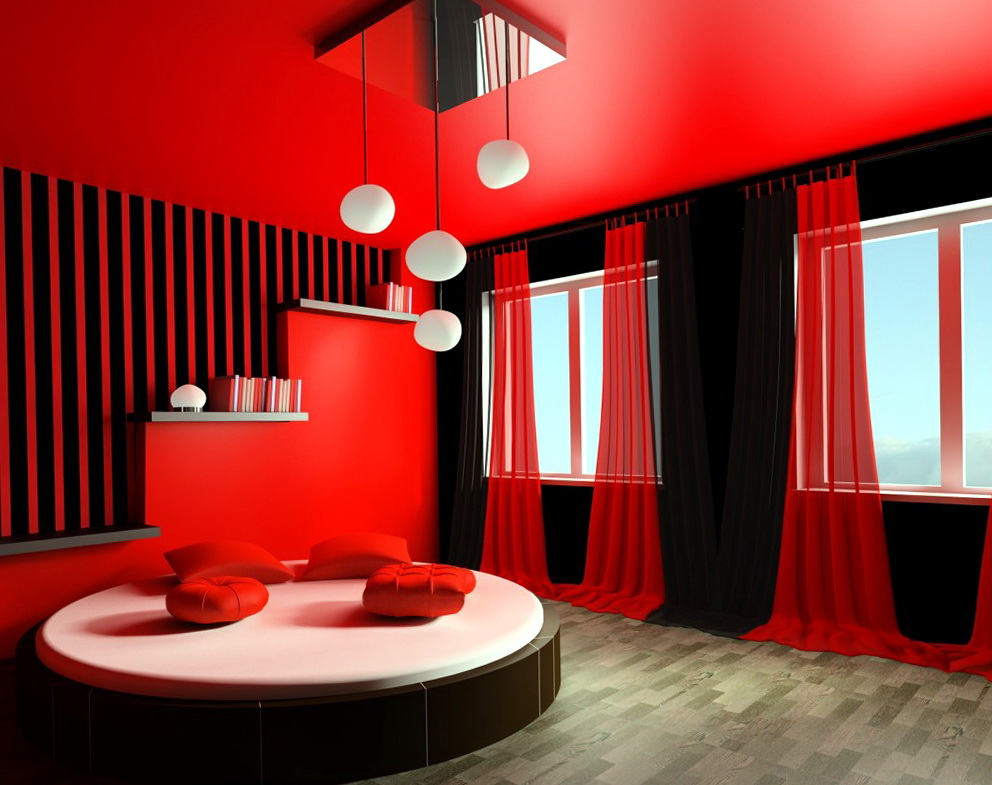 Paint Colors For Bedrooms Red