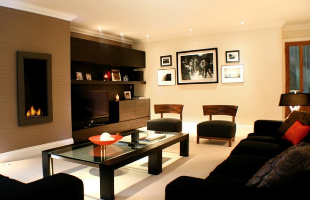 Paint Colors For Living Room Walls With Dark Furniture
