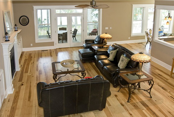Paint Colors For Living Room With Wood Trim