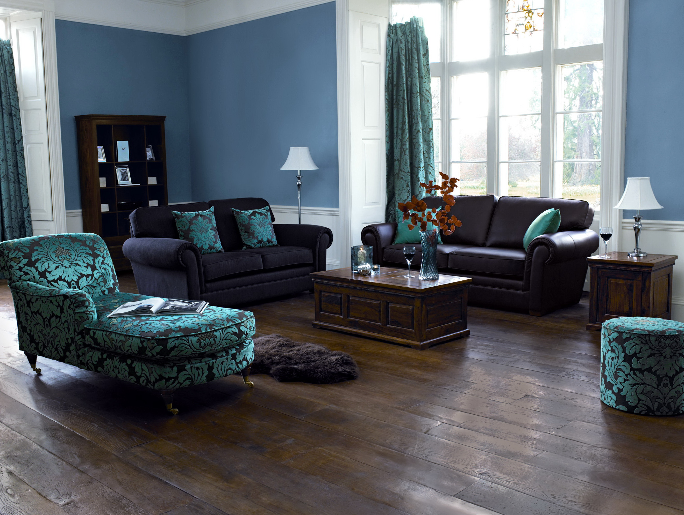 Paint Colors For Living Rooms With Dark Floors