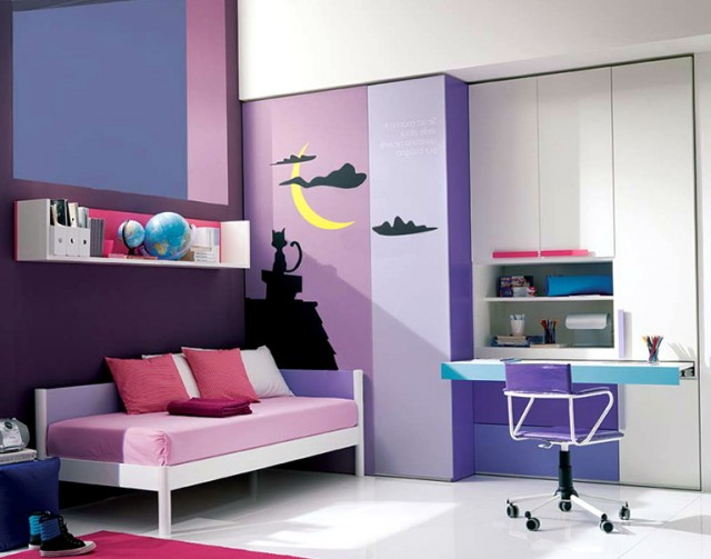 Paint Ideas For Bedrooms Teenage Girl