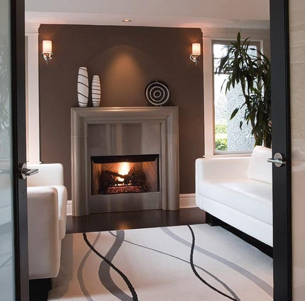Paint Ideas For Living Room With Fireplace