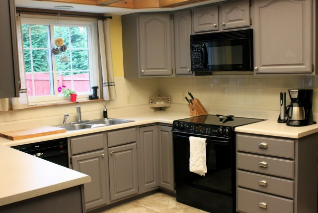 Painted Kitchen Cabinets Images