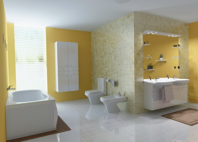 Painting Bathroom Tile Floor