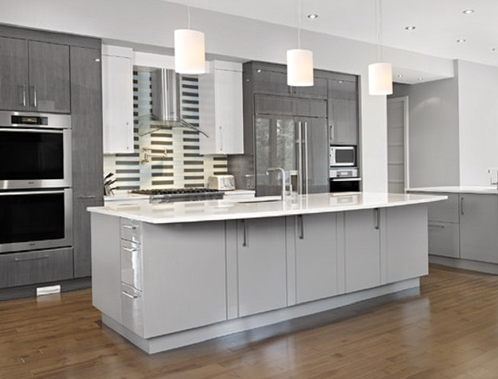 Painting Kitchen Cabinets Grey